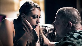 Dad waited for daughter's eighteenth birthday for a taboo blowjob from her