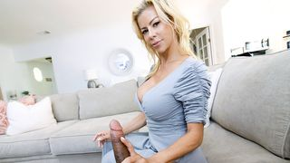 Nothing makes the son happier than a taboo blowjob by the pervert mom