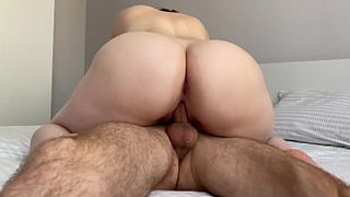 Big Boobs Porn, Awesome Homemade XXX Video - I made him cum in my pussy