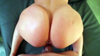 Sexually frustrated XXX babe takes big beautiful male stick from behind
