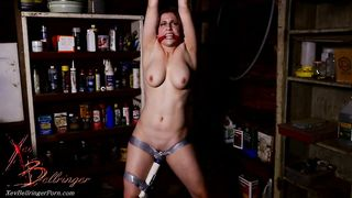 Bondage XXX Scene - Vibrator makes nude mom Xev Bellringer cum multiple times