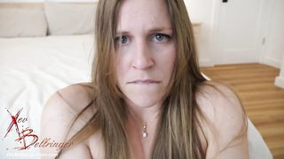 Nude nympho Xev Bellringer begs stepson to fuck her dripping wet pussy
